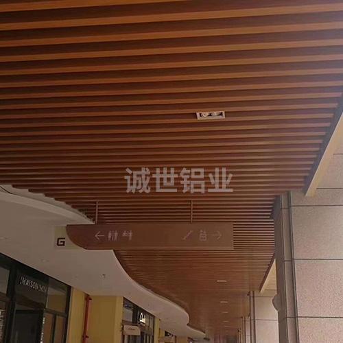 铝方通吊顶工程
