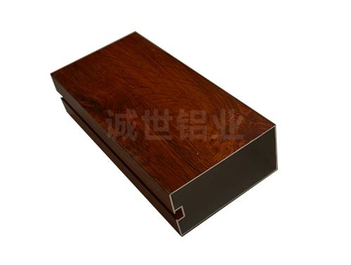 木色铝方通