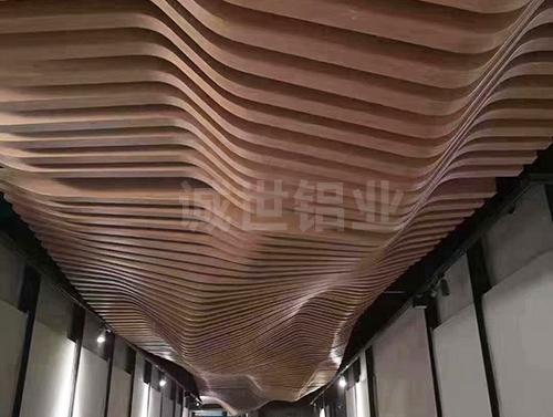 惠州波浪板天花工程