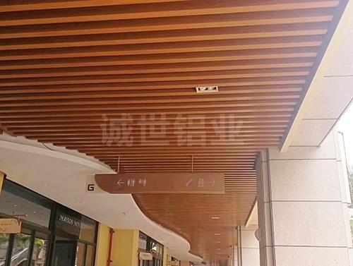 惠州铝方通吊顶