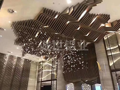 重庆铝方通天花装饰